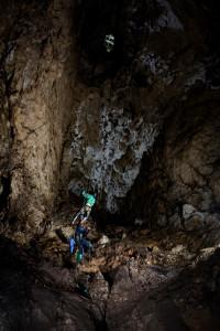fot. Michał Kamiński, jaskinia Studnisko